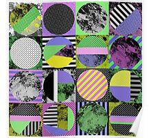 Pop Art Grid Poster