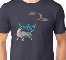 Okami with Moon Unisex T-Shirt