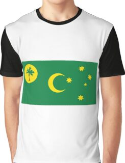Flag of the Cocos  Graphic T-Shirt