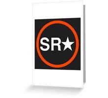 SR-IMAGES LOGO Greeting Card