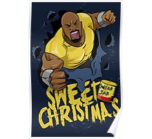 Luke Cage - Sweet Christmas Poster