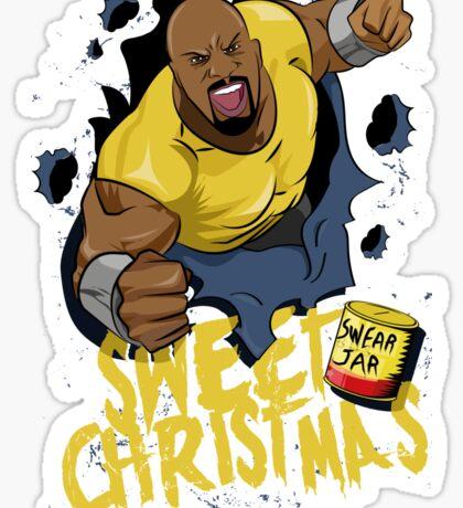 Luke Cage - Sweet Christmas Sticker