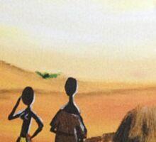 SUNSET VILLAGERS | Sands Sticker