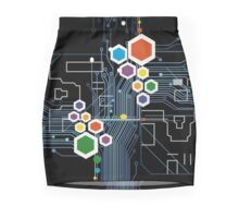 Circuitry  Mini Skirt
