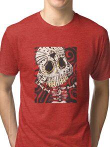Voodoo Skull Beast Tri-blend T-Shirt