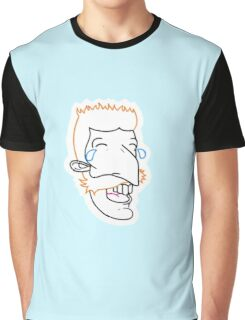 Nigel Cry Laughing Graphic T-Shirt