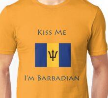 Kiss Me I'm Barbadian Unisex T-Shirt