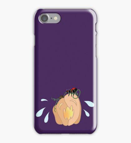 Scared Jack-o-Lantern iPhone Case/Skin