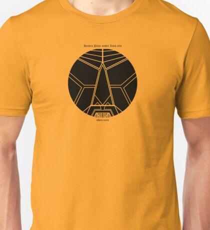 HYYDRØ.PLAST: model-ANKH 004Å Unisex T-Shirt