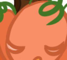 Sleeping Jack-o-Lantern Sticker