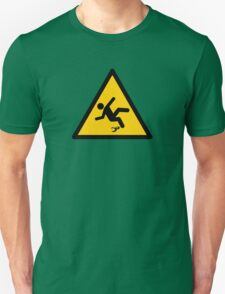 Warning Banana Peel Slippery T-Shirt
