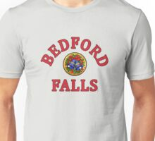 Bedford Falls with Bells Unisex T-Shirt