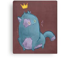 Royal Kitty Canvas Print
