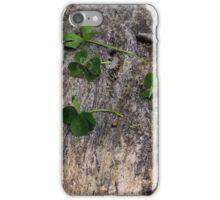 Four-Leaf Clovers iPhone Case/Skin
