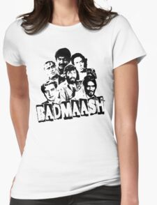 Bollywood Classic Villains Womens Fitted T-Shirt