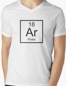 Ar Pirate Mens V-Neck T-Shirt