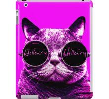 Pink Hipster Cat 4 Hillary iPad Case/Skin