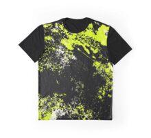 Black and yellow Graphic T-Shirt