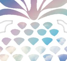 Pineapple in the clouds  Sticker
