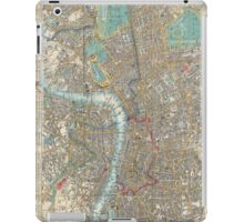 Vintage Map of London (1848) iPad Case/Skin