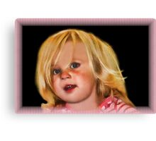 ✦ ✧ ✩ ✫ ✬Face Of An Angel✦ ✧ ✩ ✫ ✬ Canvas Print