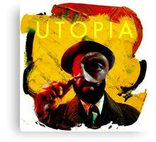 Rounding Utopia Canvas Print