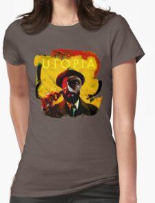 Rounding Utopia Womens Fitted T-Shirt