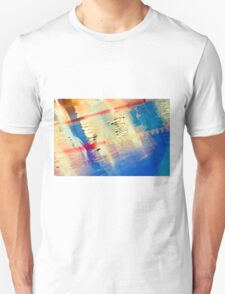 Swimming Pool 01B - Abstract Unisex T-Shirt