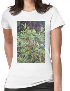 tree in the forest Womens Fitted T-Shirt