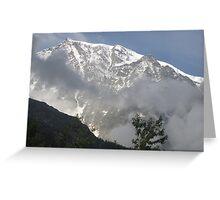 solo lassù io ti ho ritrovato....Monte Rosa - Italy - Greeting Card