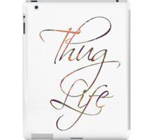Thug life Calligraphy  iPad Case/Skin