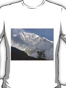 solo lassù io ti ho ritrovato....Monte Rosa - Italy - T-Shirt