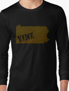 Yinz Speckled Long Sleeve T-Shirt