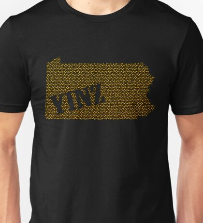 Yinz Speckled Unisex T-Shirt