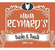 Mama Reynard's Tricks & Treats Photographic Print