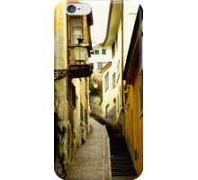 Trittligasse, in Zurich Niederdorf iPhone Case/Skin