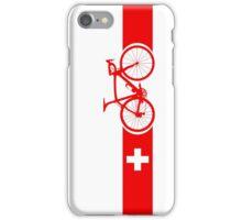 Bike Stripes Switzerland iPhone Case/Skin