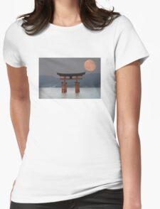 gate of Hiroshima Womens Fitted T-Shirt