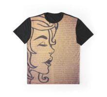 Woman outline Graphic T-Shirt