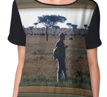Out Of Africa Chiffon Top