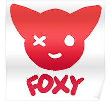 Foxy the Pirate Fox Poster