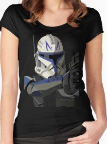 Captain Rex Women's Fitted Scoop T-Shirt