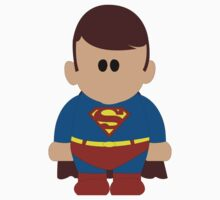 Miniature Man of Steel by ajfwebdesign