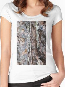 tree in the forest Women's Fitted Scoop T-Shirt