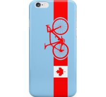 Bike Stripes Canadian National Road Race iPhone Case/Skin