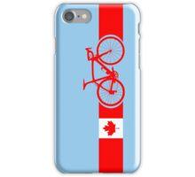 Bike Stripes Canadian National Road Race iPhone Case/Skin