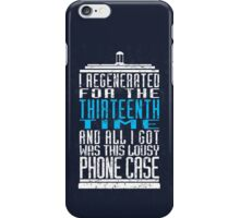 Regeneration No. 13 iPhone Case/Skin