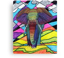 The Mighty Elephant Canvas Print
