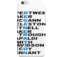 Doctor Who Regeneration iPhone Case/Skin