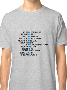 Doctor Who Regeneration Classic T-Shirt